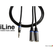 Ik Iline Headphone Cable Stereo Splitter