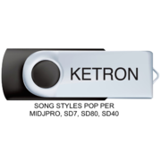 Ketron Song Styles Pop Per Midjpro, Sd7, Sd80, Sd40