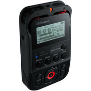 Roland R-07 bk High Resolution Audio Recorder