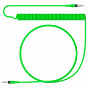 Teenage Engineering Audio Cable Curly Rick & Morty, neon green