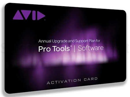 AVID PROTOOLS ANNUAL UPGRADE PLAN REINSTATEMENT