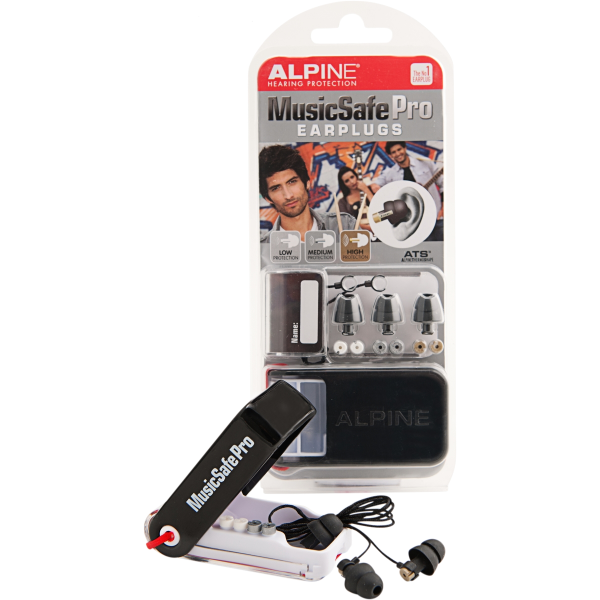 ALPINE MUSICSAFE PRO EARPLUG MK2 BLACK