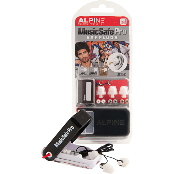 ALPINE MUSICSAFE PRO EARPLUG MK2 WHITE