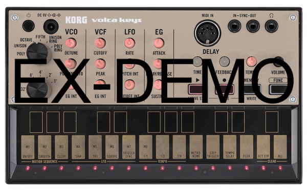 KORG VOLCA KEYS EX-DEMO