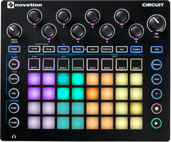 NOVATION SYNTH CIRCUIT