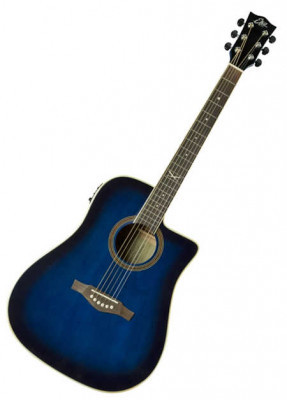 EKO NXT D CW EQ BLUE SUNBURST