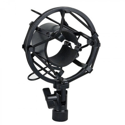 HIGHLITE MICROPHONE HOLDER BLACK D1701