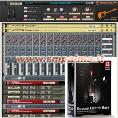 REASON ELECTRIC BASS PREZZO OUTLET