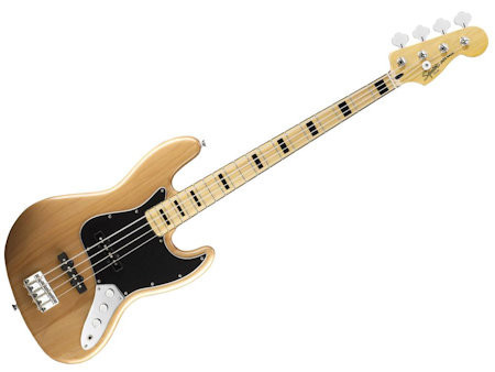 SQUIER VINTAGE MODIFIED JAZZ BASS '70S NAT