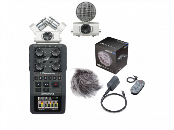 ZOOM H6 V2.0 BUNDLE