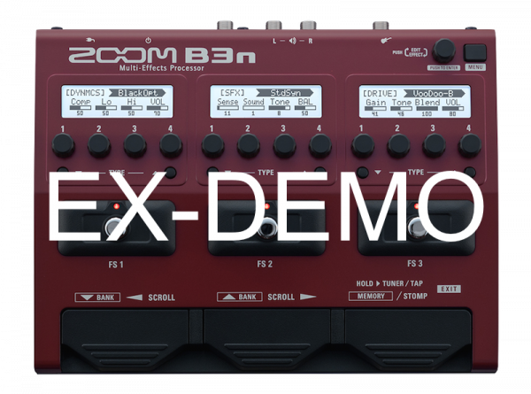 ZOOM B3N EX-DEMO