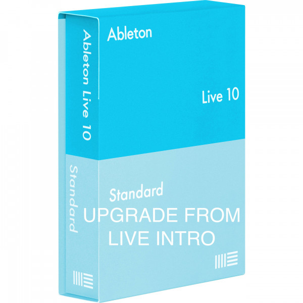ABLETON LIVE 10 STANDARD UPGRADE FROM INTRO BOX