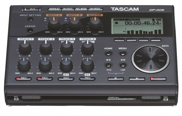TASCAM POCKETSTUDIO DP-006