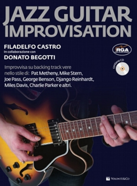 JAZZ GUITAR IMPROVISATION + CD