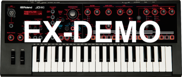 ROLAND JDXI BLACK EX-DEMO