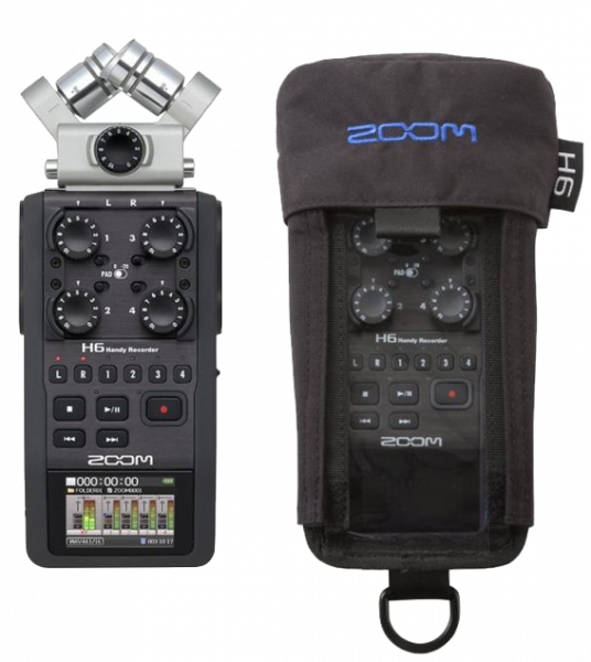 ZOOM H6 PCH BAG BUNDLE